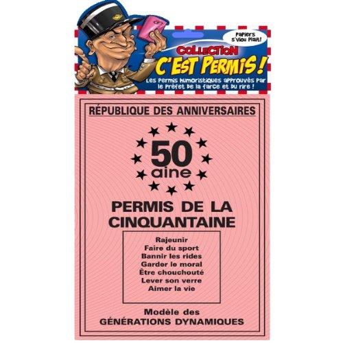 Carte Anniversaire 50ans Pas Cher