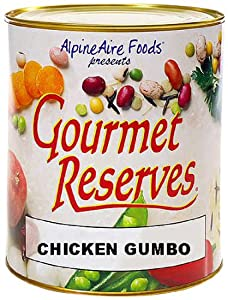 Alpine Aire Gourmet Reserves Chicken Gumbo (10-Can) by Alpine Aire