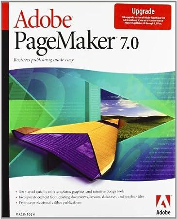 Adobe Pagemaker 7.0.2 para Mac actualización (versión en inglés)