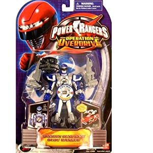 Power Rangers Operation Overdrive 5-Inch Power Ranger Action Figures Mission Response Blue Power Ranger