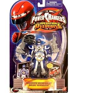 Power Rangers Operation Overdrive 5-Inch Power Ranger Action Figures Mission Response Blue Power Ranger