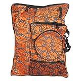 Nouveauté Imprimer nylon orange planche à dessin Palette à dos sac à main...