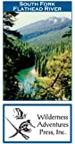 South Fork Flathead River 11x17 Fly Fishing Map