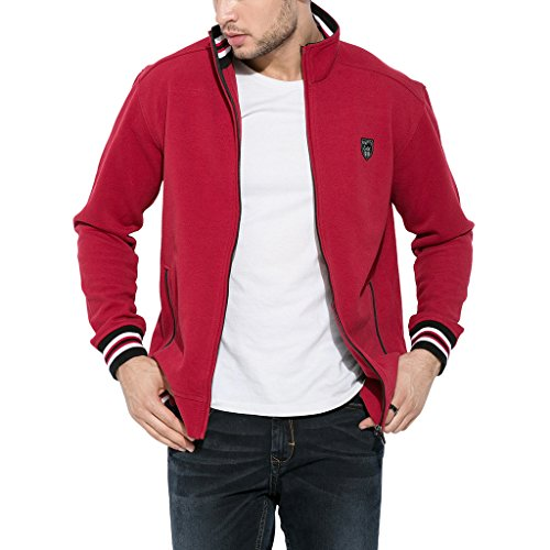 Mufti-Mens-Cotton-Jacket-MFJ-514-A03RedXX-Large