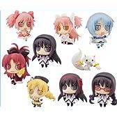 キューティーフィギュアマスコット 魔法少女まどか☆マギカ アニメ メガハウス(全9種フルコンプセット)