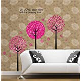 Decals Arts Flower Tree Vinyl Wall Sticker For Kids Rooms