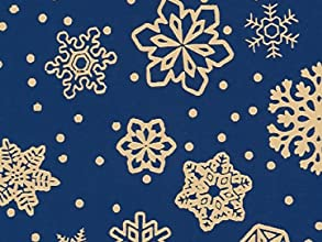 SPARKLING SNOWFLAKES 24quotx41739Gift Wrap Half Ream Roll 1 unit 1 pack per unit
