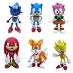 6x The HEDGEHOG Super Sonic Amy Chara...