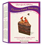 Cherrybrook Kitchen Gluten Free Dreams, Chocolate Cake Mix, 16.4-Ounce Boxes (Pack of 6)