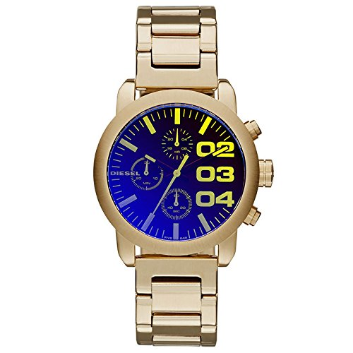 Diesel dz5467 40mm Gold Plated Stainless Steel Case Gold Plated Stainless Steel Mineral Women's Watch