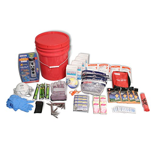 Ready-America-70395-Deluxe-Emergency-Bucket-Kit-for-4-Persons