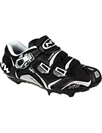 Northwave Woman's Striker Carbon 5 Mountain Cycling Shoes,Black / White, 38