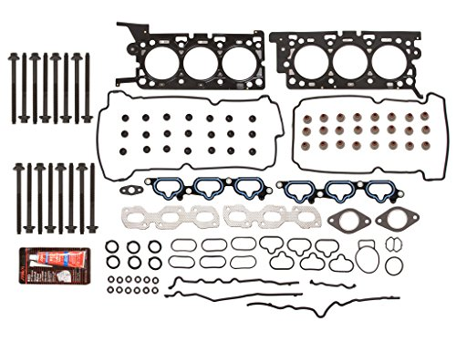 Full Gasket Set Head Bolts for 00-04 Ford Mercury Lincoln V8 4.6 VIN W X SOHC