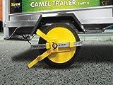 "Motionperformance Essentials Yellow Full Face 8"" - 10"" Trailer & Caravan Security Wheel Clamp"
