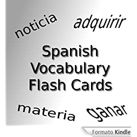 Spanish Vocabulary Flash Cards: Essential Verbs
