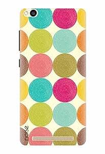 Noise Designer Printed Case / Cover for Xiaomi Redmi 3S / Patterns & Ethnic / Colored Polka Design