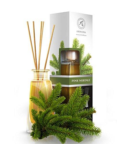 raumduft-diffuser-fichtennadeln-pine-needle-100ml-mit-duftstabchen-stabchen-mit-naturreines-atherisc
