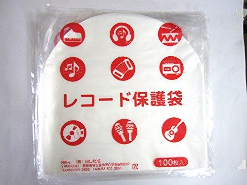 LP丸型内袋100枚 厚口0.028mm 国内製造 静電防止素材入り