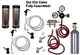 Cornelius Homebrew Kegerator Kit Dual Keg Basic Kit with 5#CO2 and Kegs