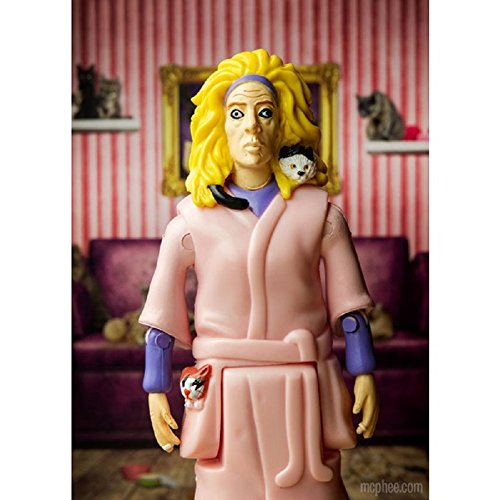 Crazy Cat Lady Collectible Action Figure