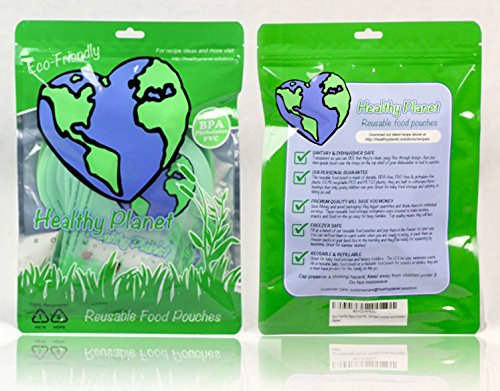 Health Planet Reusable Food Pouch