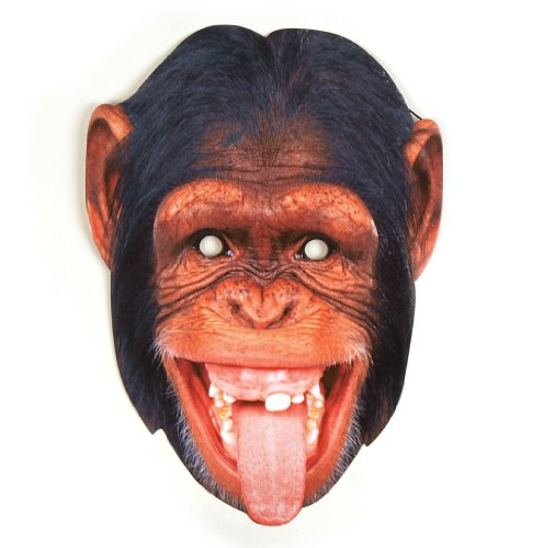 Chimpanzee Party Mask - 1