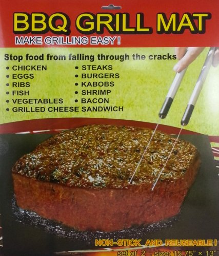 Best Price! BBQ Grill Mat (Set of 2)