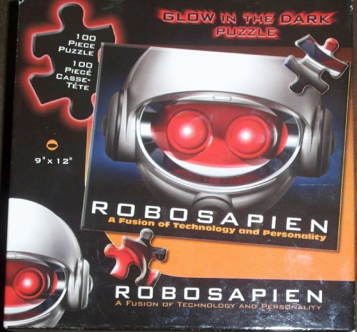 Robosapien Glow in the Dark Puzzle 100 piece puzzle
