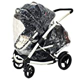 Phil Teds Storm Rain Cover for Promenade Baby Pushchair Carrycot Tandem inline Stroller