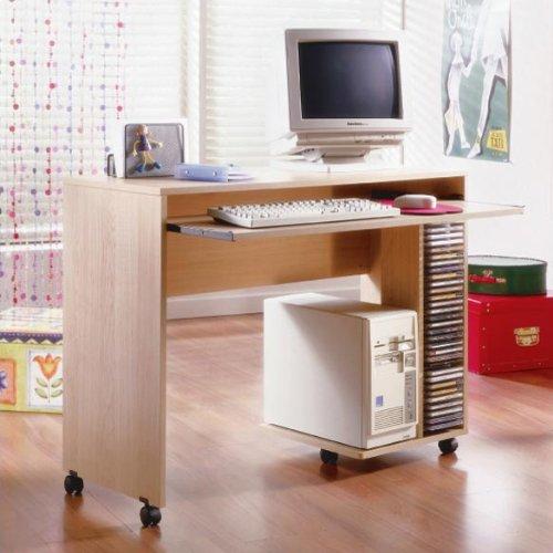 Buy Low Price Comfortable Nexera Azbi Mobile Computer Desk in Natural Maple (B001I6QQ0I)