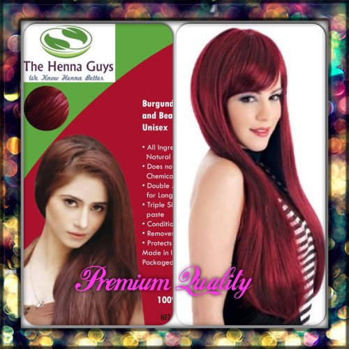 Organic Henna Hair Dye, 100% Natural Without