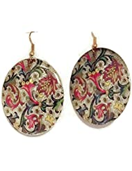 ACL Multi Colour Alloy Dangle And Drop Earrings For Women ACL-7023