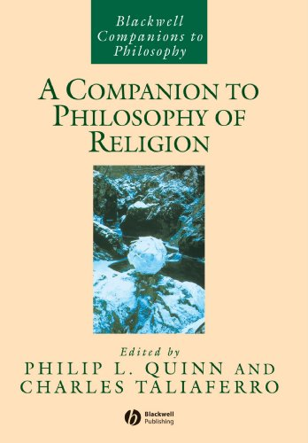 Philip Quinn & Charles Taliaferro, ed., A Companion  to Philosophy of Religion