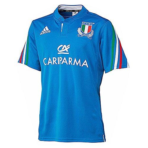 adidas - Maglietta rugby, nazionale italiana