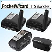Pocket Wizard Bundle With 2 Flex Transceivers TT5 -801150  Mini TT1 Transmitter -801140 & G-Wiz Trunk Bag -804712...<br />
