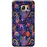 Tecozo Designer Printed Back Cover For Samsung Galaxy S6 Edge Plus, Samsung Galaxy S6 Edge Plus Back Cover, Hard Case For Samsung Galaxy S6 Edge Plus, Case Cover For Samsung Galaxy S6 Edge Plus, (Rangoli Print Design,Colourful)