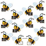 Message Bees (backside blank for personalization) Party Accessory  (1 count) (10/Pkg)