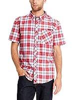 Seventy Seven Camisa Hombre Emb Text Logo (Rojo)