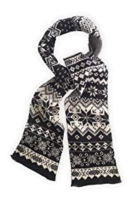 Green 3 Apparel Recycled Nordic Scarf (Black)