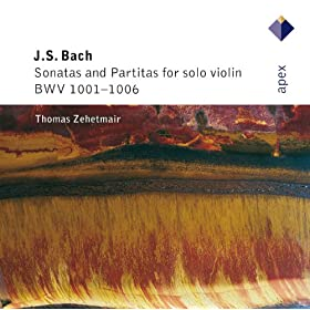 Bach, JS : Violin Partita No.2 in D minor BWV1004 : I Allemande