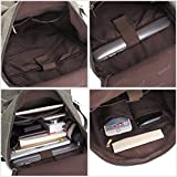 KAUKKO-Multi-Function-Vintage-Canvas-Rucksack-Backpack-Hiking-Travel-Military-Backpacks-Messenger-Bag-Army-Green