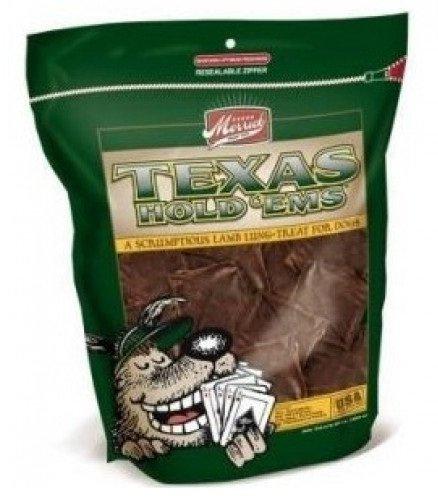 10-oz. Texas Hold Ems Lamb Lung Dog Treat