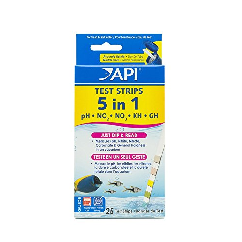 API 5 in 1 Aquarium Test Strips (Fish Tank Test compare prices)