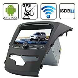 See Rungrace 7.0 inch Android 4.2 Multi-Touch Capacitive Screen In-Dash Car DVD Player for Ssangyong Korando with WiFi / GPS / RDS / IPOD / Bluetooth / ISDB-T Details