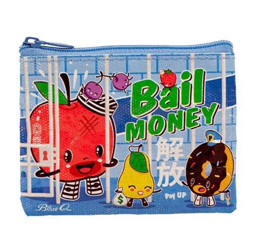 Blue Q Coin Purse Bail Money image