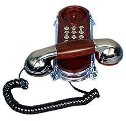 Ringer LED Indication kX-T777 Corded Landline Telephone (Nickel)