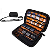 ZUtta-Tech Nintendo 3DS XL carrying case /New 3DS XL/New 3DS LL/3DS Case, Protective Shockproof External Hard Drive Case Travel Bag for SSD HDD Hard Disk Drive 2.5-Inch/ Power Bank/USB Flash Drive