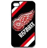 iPhone 4/4s Covers with Detroit Red Wings logo design hard case at Amazon.com