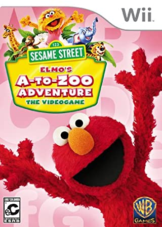 Sesame Street: Elmo's A-to-Zoo Adventure wtih Remote Cover Bundle