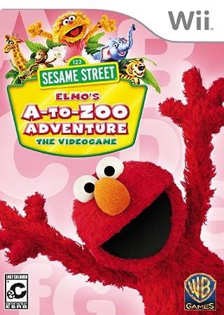 Sesame Street: Elmo's A-to-Zoo Adventure wtih Remote Cover Bundle